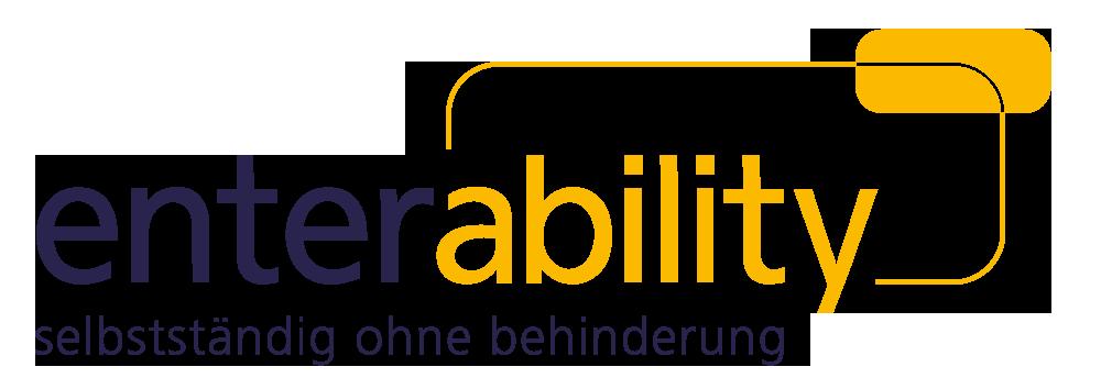 Logo von enterability Berlin - Ohne Behinderung in die Selbstständigkeit